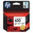 Tintapatron HP nr.650 színes 200 oldal CZ102E