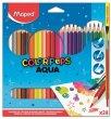 Akvarell ceruza készlet ecsettel Maped Color Peps 24 szín