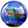 Egéralátét kör alakú Fellowes Brite akvárium