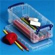 Műanyag tárolódoboz átlátszó 0,9 liter Really Useful Box