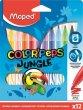 Filctoll készlet 2,8mm kimosható Maped Color`Peps Jungle 12 kül. szín