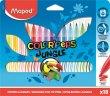 Filctoll készlet 2,8mm kimosható Maped Color`Peps Jungle 18 kül. szín