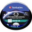 DVD-R lemez archiváló nyomtatható M-DISC 4,7GB 4x Verbatim