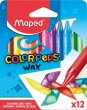 Zsírkréta Maped Color`Peps Wax 12 különböző szín