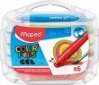 Zsírkréta kitekerhető Maped Color`Peps GEL 6 különböző szín
