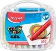 Zsírkréta kitekerhető Maped Color`Peps GEL 10 különböző szín
