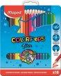 Színes ceruza készlet fém doboz Maped ColorPeps 18 szín