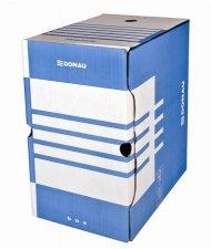 Archiváló doboz A4 200mm karton Donau kék #1