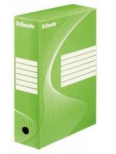 Archiváló doboz A4 100mm karton Esselte Standard zöld #1