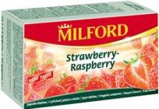 Gyümölcstea 20x2,5g Milford eper-málna ízű #1