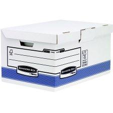 Csapófedeles archiváló konténer Banker Box System BY Fellowes kék #1