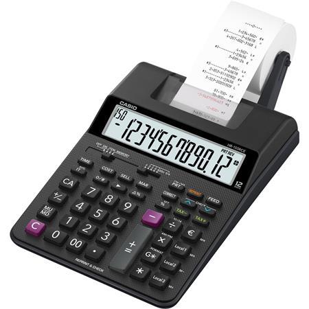 Számológép szalagos 12 számjegy 2 színű nyomtató Casio HR-150RCE e48ffe4e4e