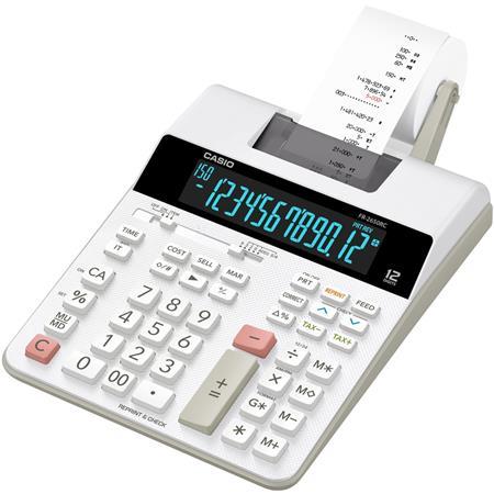 Számológép szalagos 12 számjegy 2 színű nyomtató Casio FR-2650 RC 6d8faaf503