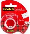 Ragasztószalag adagolón 19mmx7,5m 3M Scotch Crystal