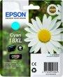 Tintapatron XP 30 102 202 205 Epson kék 6,6ml T181240