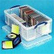 Műanyag tárolódoboz függőmappák, iratrendezők tárolására 50 liter Really Useful