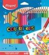 Színes ceruza készlet háromszögletű Maped Color`Peps 48 kül. szín