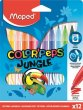 Filctoll készlet 2,8mm kimosható Maped Color`Peps Jungle 12 kül. szín