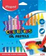 Olajpasztell kréta Maped ColorPeps 24 különböző szín