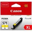 CLI-571YXL Tintapatron Pixma MG5750 6850,7750 nyomtatókhoz Canon sárga 11ml