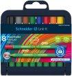 Rostirón készlet 1mm Schneider Link-it összeilleszthető 8 különböző szín
