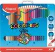 Színes ceruza készlet fém doboz Maped ColorPeps 24 szín