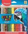 Színes ceruza készlet háromszögletű Maped Color`Peps Animal 24 különböző szín