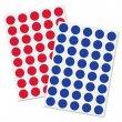 Moderációs jelölőpontok 18mm kör Sigel 1040 db/csomag piros és kék