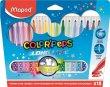 Filctoll készlet mosható Maped ColorPeps 18 különböző szín