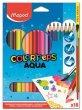 Akvarell ceruza készlet ecsettel Maped Color Peps 18 szín