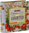 Fekete tea filteres 4x8x1,5g fém könyv dobozban Basilur Collection nr.1 Assorted