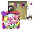 Girland 400x12x12cm 30. születésnap