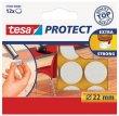 Filckorong karcolásgátló 22mm Tesa Protect fehér