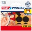 Filckorong karcolásgátló 22mm Tesa Protect barna