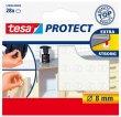 Zaj- és csúszásgátló korong 8mm Tesa Protect átlátszó