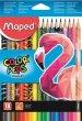 Színes ceruza készlet háromszögletű Maped Color`Peps Animal 18 különböző szín