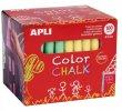 Táblakréta kerek 100 darabos Apli vegyes színek