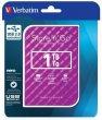 2,5 HDD (merevlemez) 1TB USB 3.0 Verbatim Store n Go lila