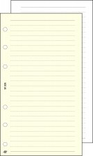 Kalendárium betét jegyzetlap L vonalas Saturnus chamois #1