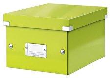 Irattároló doboz A5 lakkfényű Leitz Click&Store zöld #1