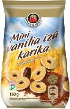 Mini vanilia ízű karika 160gr. Urbán #1