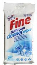 Törlőkendő nedves 30db-os fürdőszobai tisztító #1