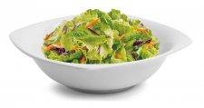 Salátás- pogácsás tál négyszögletes,23cm Rotberg Quadrate fehér #1