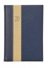 Naptár tervező A5 napi Toptimer Fashion kék-bézs-kék #1