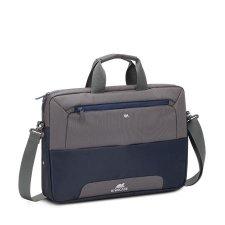 Notebook táska 15,6 Rivacase Suzuka 7737 acélkék- szürke #1