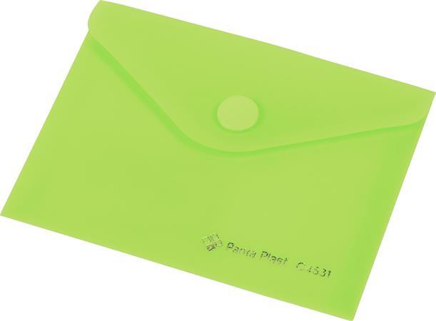 5575d683ba1f Irattartó tasak A7 PP patentos Panta Plast pasztell zöld